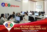 Dịch thuật công chứng tài liệu Kinh Tế- Tài Chính tại quận Kiến An - Hải Phòng