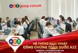 Dịch thuật công chứng Kiến Trúc và Xây Dựng tại quận Dương Kinh